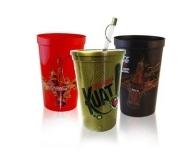 Cozinha e afins Copos personalizados Brinde copo com canudo 550 ml FBCO-0070