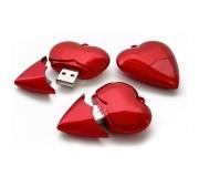 Brinde pen drive coração - FBPD-00114