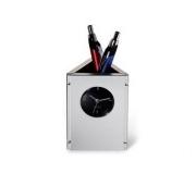 Brinde porta canetas com relógio FBCA-00550