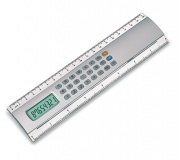Papelaria Réguas personalizadas Brinde régua com calculadora - FBRC-0040