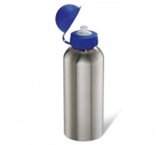 Brinde squeeze em aço inox 600 ml FBSQ-00230 - Azul