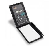 Papelaria Calculadora Personalizada Calculadora solar com bloco de anotações - FLEC-02660