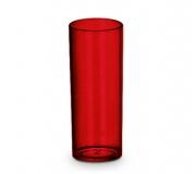 Copo long drink 250 ml vermelho FBCO-0065