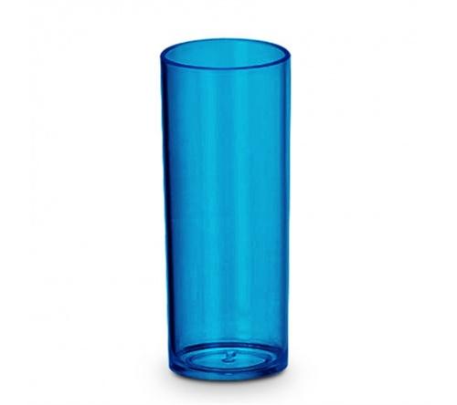 Kit de 50 copos long drink 250 ml azul FBCO-0065 - Personalizados
