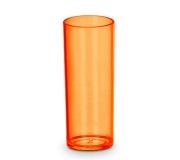 Kit de 50 copos long drink 250 ml laranja neon FBCO-0065 - Personalizados