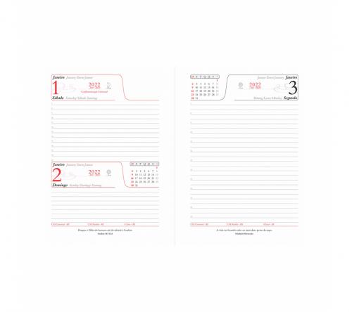 Brinde agenda personalizada - FBAG-00502L