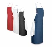 Vestuário Avental personalizado Brinde avental de algodão e poliéster personalizado FBAP-99830