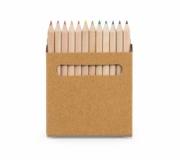 Diversos Brindes Infantis Brinde caixa de lápis de cor personalizada - FBLC-91747