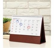 Papelaria Calendário personalizado Brinde calendário de mesa executivo - FBCL-35109