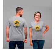 Vestuário Camisetas personalizadas Brinde camiseta personalizada algodão fio 30.1 - mescla - FBCF-0014