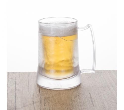 Brinde caneca de chopp personalizada com gel congelante FBCG-12508