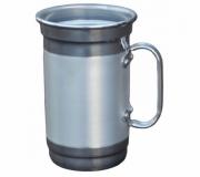 Brinde caneca de chopp personalizada em alúminio 600 ml FBCC-00566