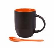 Cozinha e afins Canecas personalizadas Brinde caneca mágica com interior laranja FBCA-0655