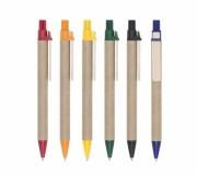 Brinde caneta reciclada personalizada FBCP-00857