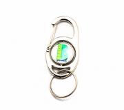Brinde chaveiro em metal mosquetão FBCH-MS0301