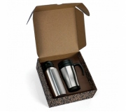 Brinde conjunto de squeeze e caneca personalizados - FBCJ-41601