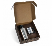 Brinde conjunto de squeeze e caneca personalizados - FBCJ-01601