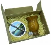 Cozinha e afins Conjuntos personalizados Brinde conjunto para chimarrão personalizado - FBKC-02406