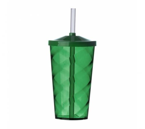 Brinde copo com canudo personalizado - FBCO-13380