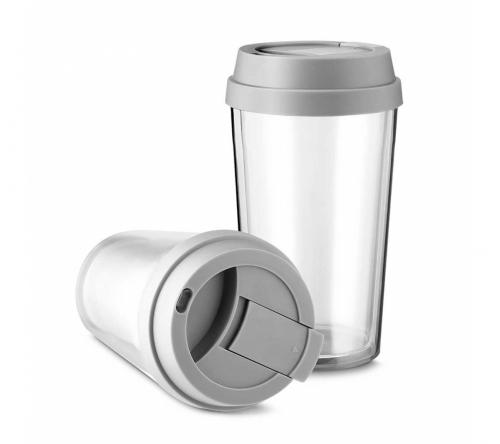 Brinde copo plástico personalizado 400ml - FBCO-0700