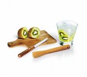 Cozinha e afins Kit Caipirinha Personalizado Brinde kit caipirinha personalizado em bambu FBKC-00253