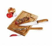 Cozinha e afins Kit churrasco personalizado Brinde kit churrasco personalizado 3 peças - FBKC-19093