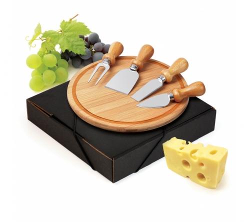 Cozinha e afins Kit queijo personalizado Brinde kit para queijo com 5 peças - FBPD-15043