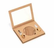 Cozinha e afins Kit queijo personalizado Brinde kit queijo personalizado 03 peças - FBKQ-00269