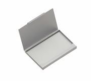 Papelaria Porta cartão personalizado Brinde porta cartão em alumínio FBPC-12380