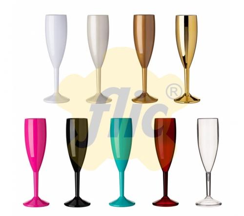 Brinde taça de champagne personalizada acrílico 180 ml - FBTP-005267
