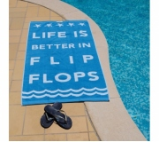 Vestuário Toalhas personalizadas Brinde toalha de praia personalizada 240 gr - FBTP-03029