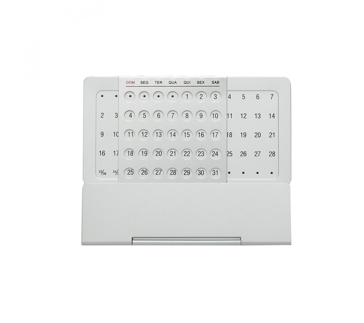 415df946f Brinde calendário personalizado de mesa permanente FBCM-09110 - Flic Brindes